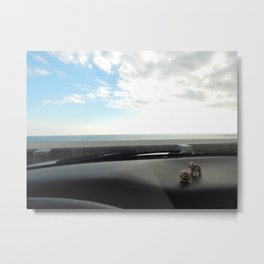 Dashboard Friends Metal Print