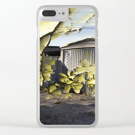 Interference #2 Clear iPhone Case