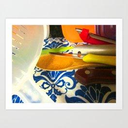 cucina 3 Art Print