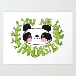 Pandastic Art Print
