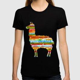 Stripey Llama T-shirt