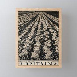 plakater Britain Framed Mini Art Print