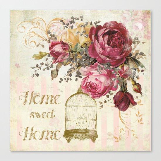Home Sweet Home #2 Canvas Print