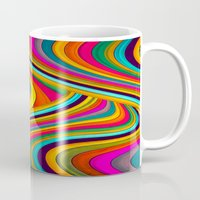 acid Mugs featuring Acid by Danny Ivan