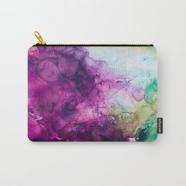Eggplant Carry-All Pouch