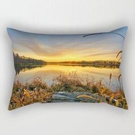 December Reflections 2 Rectangular Pillow