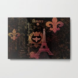 Paris: La Tour Eiffel Metal Print