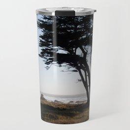 Trees in Fort Bragg, Northern California Travel Mug