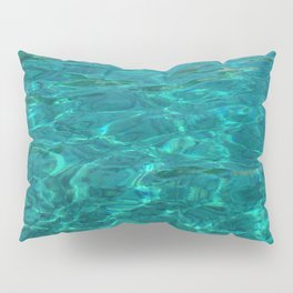Crystal Clear Water in Sardinia Pillow Sham