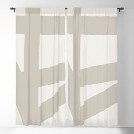 Neutral Abstract 3A Blackout Curtain