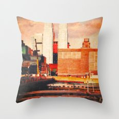 The High Line Throw Pillow