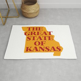 THE GREAT STATE OF KANSAS Rug