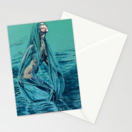 Danaë's Immaculate Conception (Revised) Stationery Cards