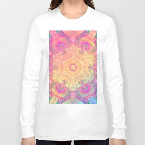 Psychedelic Kaleidoscope Long Sleeve T-shirt