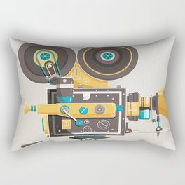 Cine Rectangular Pillow