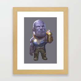 Titan Framed Art Print