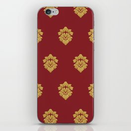 Free Marches (Red) iPhone Skin