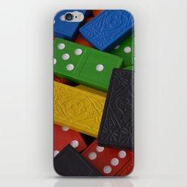 Dominoes iPhone Skin