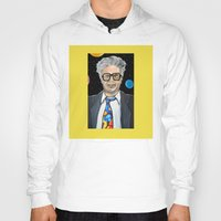 will ferrell Hoodies featuring Will Ferrell as Harry Caray SNL by Portraits on the Periphery