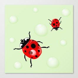 Ladybird3 Canvas Print