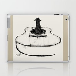 Guitar by Kathy Morton Stanion Laptop & iPad Skin