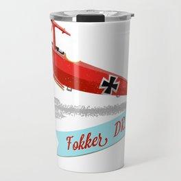 Red Baron's Fokker Dr.I Travel Mug