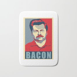 Ron Swanson Parks And Recreation Bath Mat