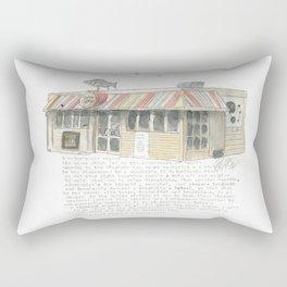 5 Majoribanks Street, Wellington Rectangular Pillow