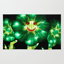 smile flowers Rug