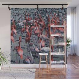 Flamingo 4 Wall Mural