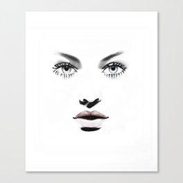 Fashion Illustration - Barbara Canvas Print