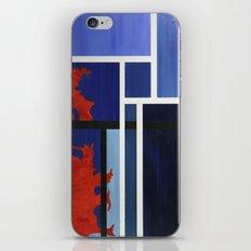 Blue Me Orange iPhone & iPod Skin