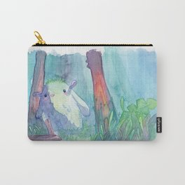 Little monster watercolor Carry-All Pouch