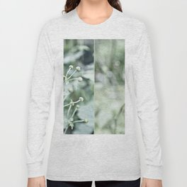 Gray-green garden plants Long Sleeve T-shirt
