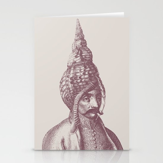 Haute Coiffure  /#1 Stationery Cards