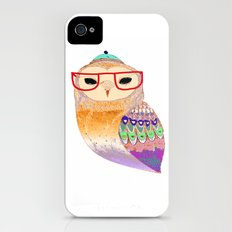 Pretty Awesome owl iPhone (4, 4s) Slim Case