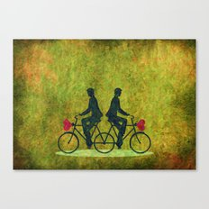 Stucked Love Canvas Print