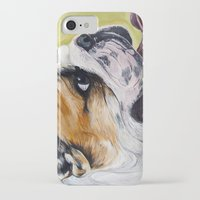 english bulldog iPhone & iPod Cases featuring English Bulldog  by WOOF Factory