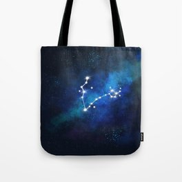 Pisces Star Sign Tote Bag