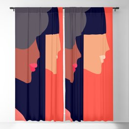 Together, we can  #girlpower Blackout Curtain