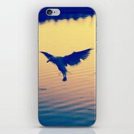 I Love You Seagull iPhone Skin