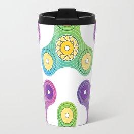 Fidget spinner toy Travel Mug