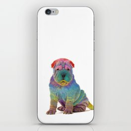 Colorful Sharpei iPhone Skin