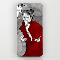 dracula iPhone & iPod Skins featuring Dracula by Ed Pires