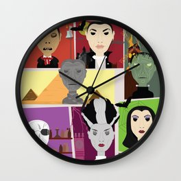 Universal Monsters Wall Clock