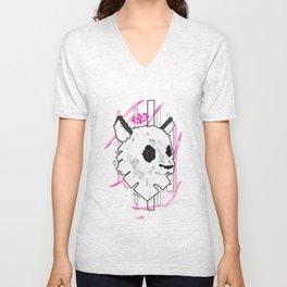 Queen Panda Unisex V-Neck
