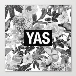 YAS B&W Canvas Print
