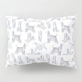 Afghan Hounds Pattern Pillow Sham