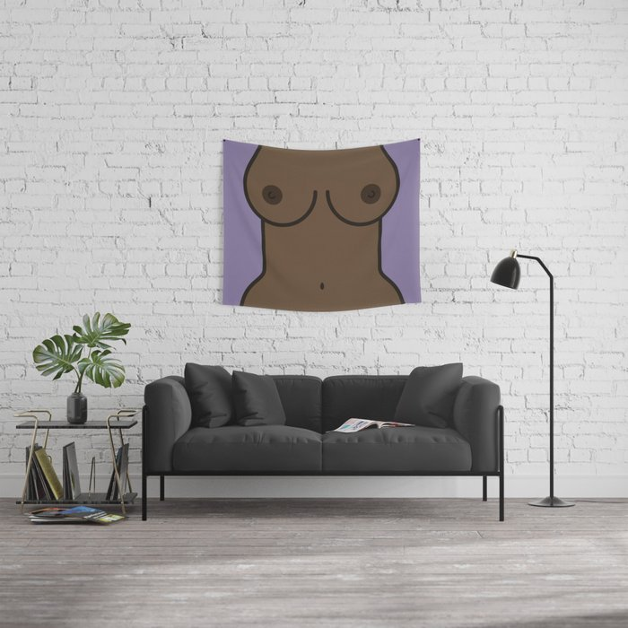 Boobs Wall Tapestry