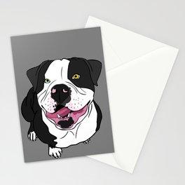 Bubba, the American Bulldog Stationery Cards
